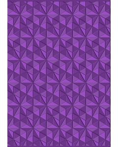 Gemini 3D Embossing Folder - Geometric Triangles