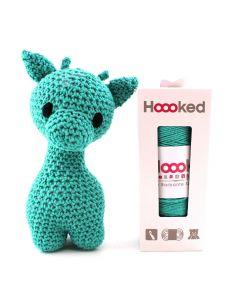 Hoooked DIY Eco Barbante Ziggy Giraffe Crochet Kit - Lagoon