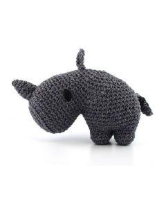 Hoooked Rhino Crochet Kit Ecobarb - Lava