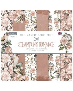 Creative Expressions The Paper Boutique Steampunk Romance - 12x12 Paper Pad