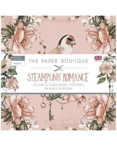 Creative Expressions The Paper Boutique Steampunk Romance - 5x5 Sentiments Pad