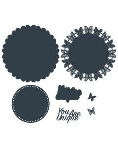 The Paper Boutique Die Collection - You Are Unique