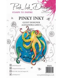 Pink Ink Designs Clear Stamp - Pinky Inky