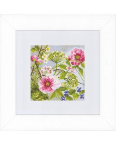 Groves Counted Cross Stich Kit Peonies (Aida)