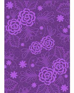 Gemini A6 3D Embossing Folder - Blossoming Lace