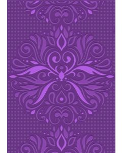 Gemini A6 3D Embossing Folder - Ornate Flourish