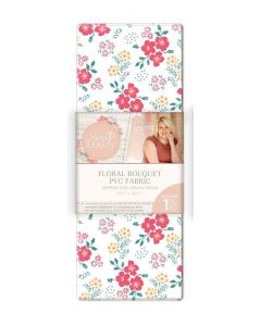 Sara Signature Sew Lovely PVC Fabric - Floral Bouquet