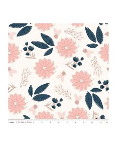 Riley Blake Blush Fabric - RBSC8010 CREAM