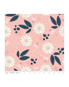 Riley Blake Blush Fabric - RBSC8010 PINK