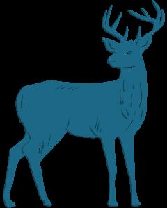 Enchanted Christmas - Metal Die - Arctic Deer