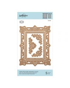 Spellbinders Die - Callista Rectangle Shadowbox Frame