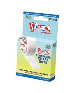 Stix2 Ultra Thin Permanent Glue Dots 10mm