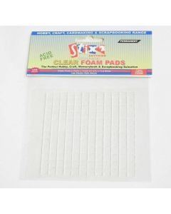 Stix2 Thick Clear Foam Pads 7mm x 7mm x 1mm