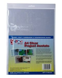 Stix2 Clear Project A4 Acetate Sheets
