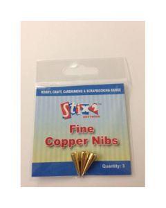 Stix2 Fine Copper Nibs x 3