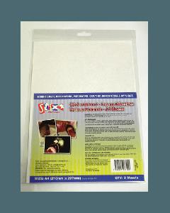 Stix2 Iron on Adhesives Various Materials- A4 Sheets