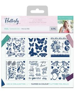 Sara Signature Flutterby Collection Foil Transfers - Wild & Free