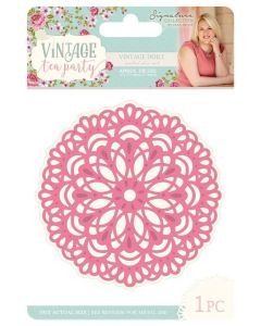 Sara Signature Vintage Tea Party Collection Metal Die - Vintage Doily