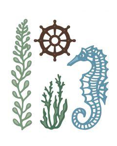 Sara Signature Nautical Metal Die - Sealife Accessories