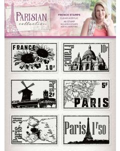 Sara Signature Parisian Acrylic Stamp - French Stamps