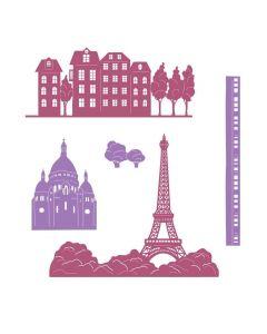 Sara Signature Parisian Metal Die - Scenic France