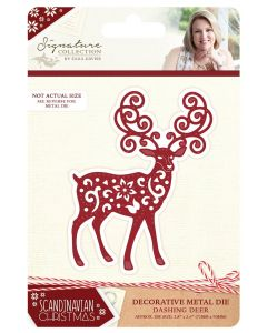 Sara Signature Scandinavian Christmas Collection Metal Die - Dashing Deer