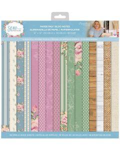 Sara Signature Sew Homemade - 12x12 Paper Pad