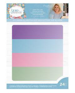 "Sara Signature Sew Homemade - 8.5 x 11"" Luxury Pearl Card Pack"