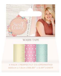 Sara Signature Sew Lovely - Washi Tape (3pk)