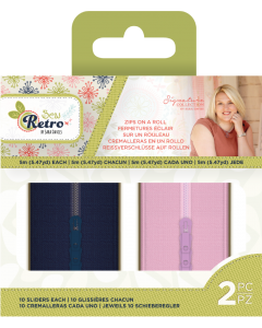 Sara Signature Sew Retro - Zips on a Roll