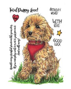 Sheena Douglass A Little Bit Sketchy A6 Rubber Stamp - Willow Wishes