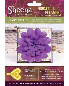 Sheena Douglass Perfect Partners Create a Flower Metal Die - Heart Petals