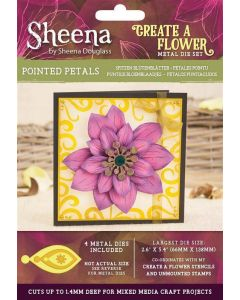 Sheena Douglass Perfect Partners Create a Flower Metal Die - Pointed Petals