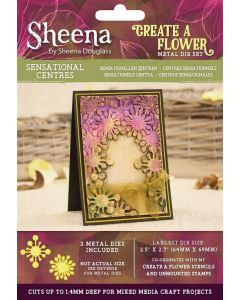 Sheena Douglass Perfect Partners Create a Flower Metal Die - Sensational Centres