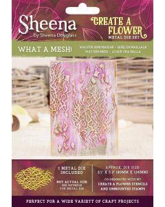 Sheena Douglass Perfect Partners Create a Flower Metal Die - What a Mesh!