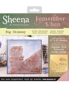 Sheena Douglass Remember When Stencils - Big Chimney