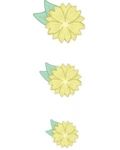 Crafter's Companion Nature's Garden Spring is in the Air Stamp and Die - Primula