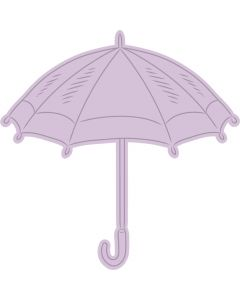 Crafter's Companion Nature's Garden Spring is in the Air Stamp and Die - Umbrella