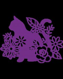 Gemini Elements Metal Die - Silhouette Cat