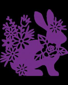 Gemini Elements Metal Die - Silhouette Rabbit