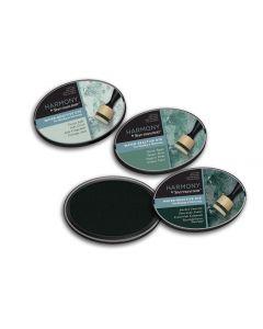 Harmony by Spectrum Noir Water Reactive 3PC Dye Inkpads - Mineral Greens