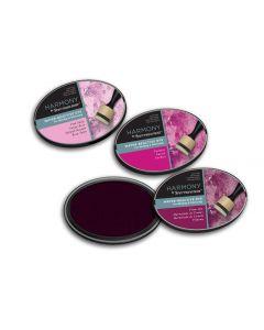 Harmony by Spectrum Noir Water Reactive 3PC Dye Inkpads - Pretty Pinks