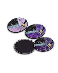 Harmony by Spectrum Noir Water Reactive 3PC Dye Inkpads - Regal Purples