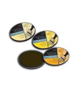 Harmony by Spectrum Noir Water Reactive 3PC Dye Inkpads - Summer Yellows