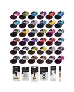 Spectrum Noir Harmony Quick Dry Inkpads - All 36 with FREE Blending Kit Worth £30!