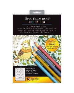 Spectrum Noir Colorista A4 Pencil Pad - Natural Beauty