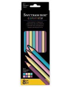 Spectrum Noir Colorista 8pk Pencils - Set 3