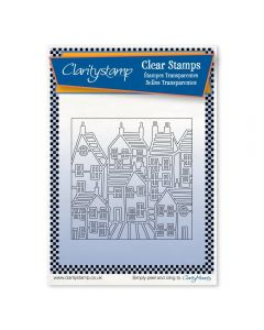 Claritystamp Townhouse A6 Stamp Set - Outline