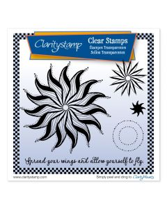 Claritystamp Circus Stamp Set - Leonie's Wings