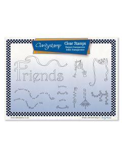 Claritystamp - Linda's Friends Dangles Stamp Set